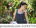 여성, 모자, 매력적인 31443759