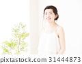 美容女性口腔護理護膚美容年輕女性美容 31444873