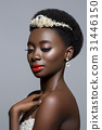 Beautiful black skin bride 31446150