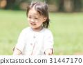 아이들과 공원 비눗 방울 31447170