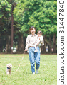 ความเป็นพ่อแม่,เดิน,คน 31447840