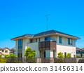 新建的独立式住宅 31456314