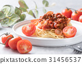 spaghetti pork with mushroom 31456537