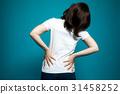 腰痛 背痛 下背疼痛 31458252