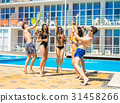 pool, summer, party 31458266