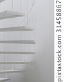 White spiral stair 31458867