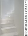 White stairs 31458874