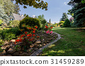 colorful spring garden 31459289