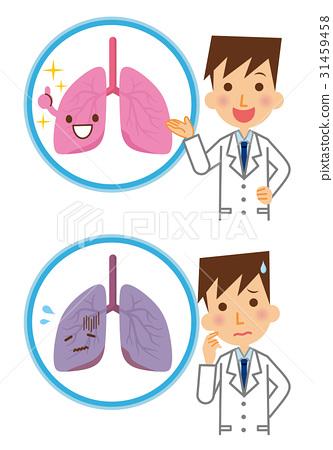 肺部 肺 醫生 31459458