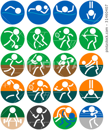 sport, sports, pictogram 31460407