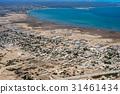 Baja California Sur Mexico aerial view 31461434