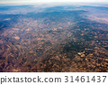 desert near mexico city aerial view cityscape  31461437