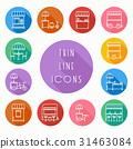 icon line food 31463084