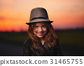 girl sunset little 31465755