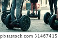 Guided segway tour in a tourist place 31467415