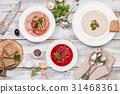 湯 食物 食品 31468361