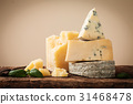 various types of cheese still life 31468478