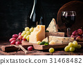 various types of cheese still life 31468482