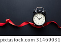 alarm clock and ribbon 31469031