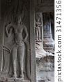 Angkor wat detail 31471356