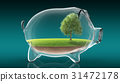bank, piggy, pig 31472178