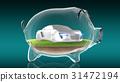 bank, concept, piggy 31472194