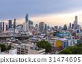 Bangkok Skyline Sunset 31474695