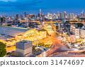 Bangkok Central Train Station sunset 31474697