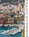 Monaco Fontvieille cityscape 31474703