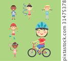 Young kids sportsmens future roller skates 31475378
