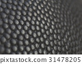 Classic basketball ball detail leather surface 31478205