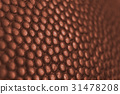 Classic basketball ball detail leather surface 31478208