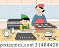 餅乾 家庭 家族 31484426