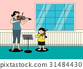大提琴 女儿 努力 31484430