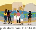 大象 動物園 插圖 31484438