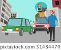 事故 汽車 車 31484470