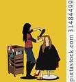 여성, 직업, 모자 31484499