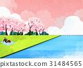 환경, 부부, 구름 31484565