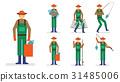 農作物 插圖 動畫 31485006