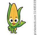 動畫 玉米 穀物 31485039