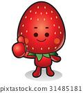 原料 草莓 插圖 31485181