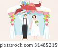 신부, 커플, 축하 31485215