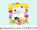 新娘 夫婦 一對 31485220