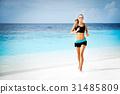 海灘 女性 女 31485809
