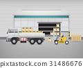 Shipping vector concept 31486676