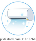 에어컨, 냉방, 에어콘 31487264