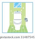 깨끗한 화장실 31487545
