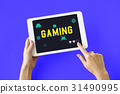 Game Play Entertainment Fun Relax Leisure Graphic 31490995