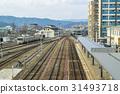 railroad, railway, track 31493718