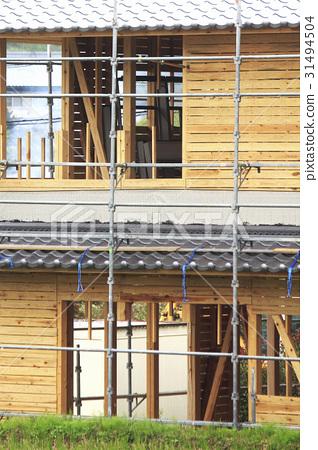 일본식 목조 건축 31494504